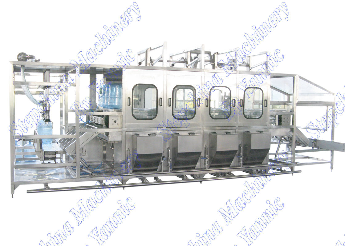 Electrical Fully Automatic 20 Ltr Jar Filling Machine , 5 Gallon Filling Machine