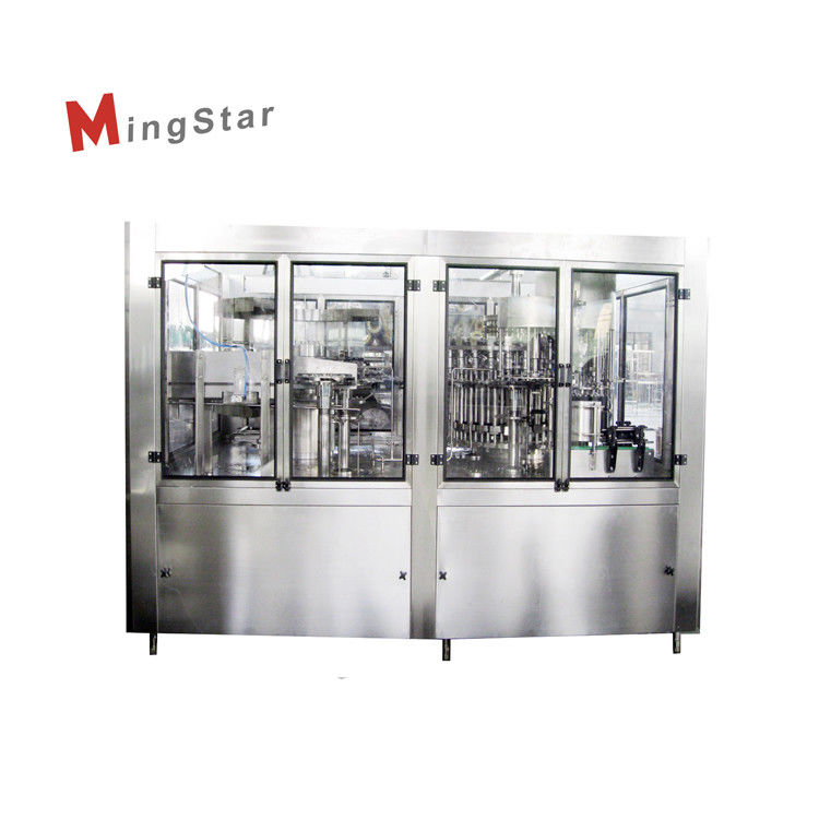 SUS304 Glass Bottled Spirits Filling Machines Capacity 7000BPH For 500ml