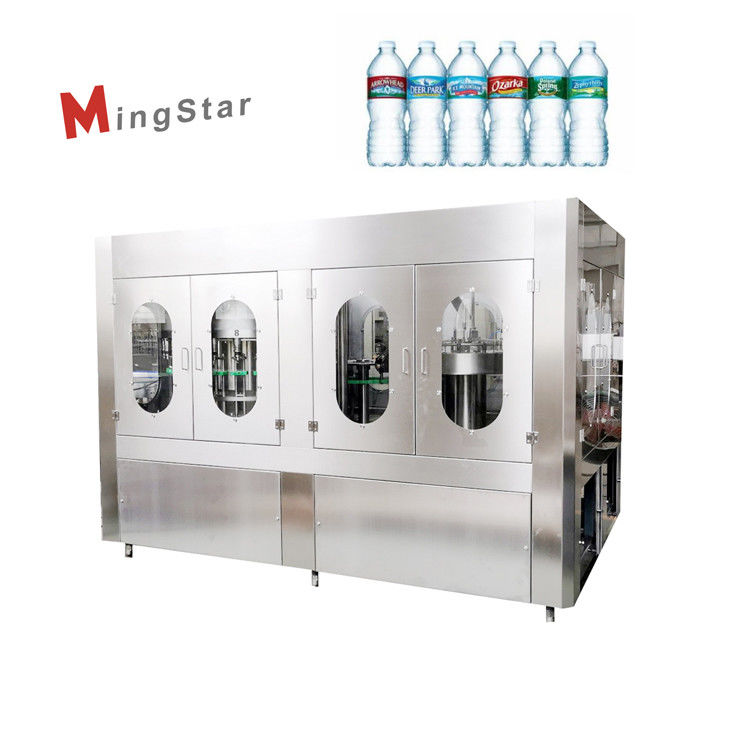 500Ml Turnkey Project Automatic Pet Bottle Filling Machine Mineral Water Bottle Plant