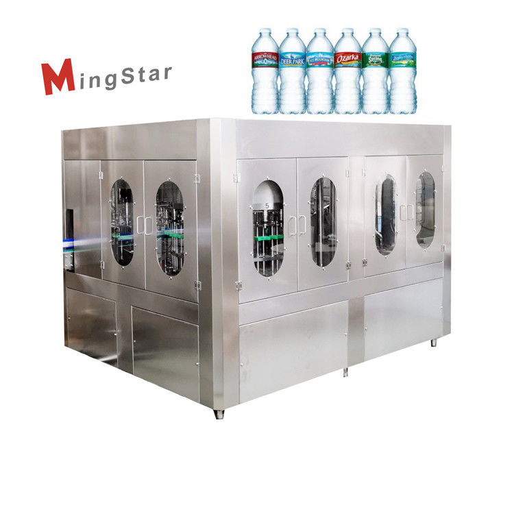 Popular 500Ml Pet Mineral Water Bottle Plant Fully Automatic For Industrial