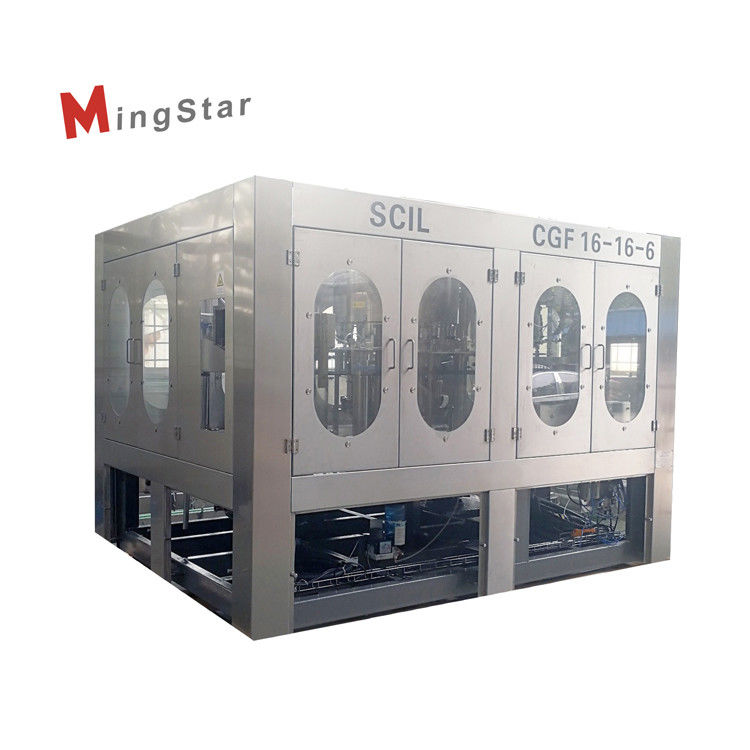Fully Automatic Stable Plastic Bottle Filling Machine For Food And Beverage Industries