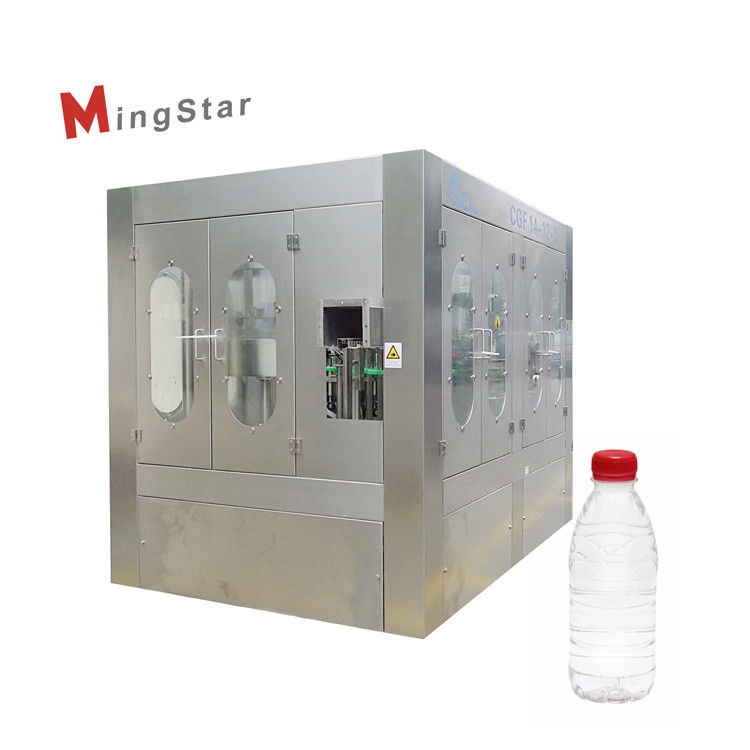 Industrial Turnkey Project Plastic Bottle Filling Machine For 500Ml Mineral Water